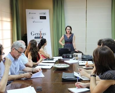 First meeting with stakeholder in Teruel